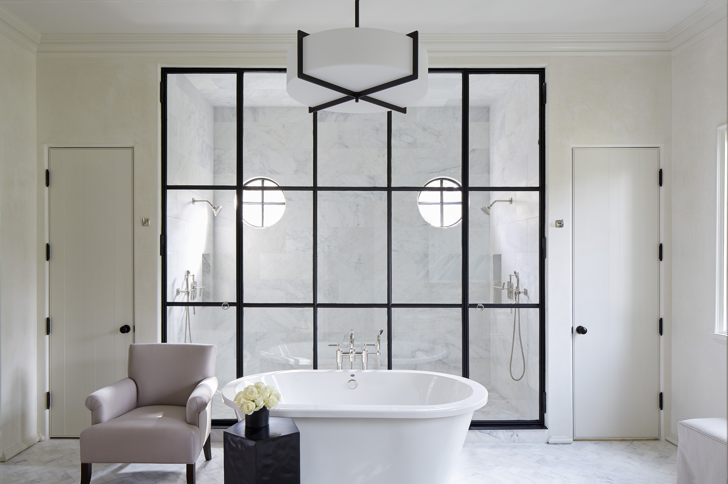 Robert Brown Interiors Master Bath, Mali Azima Photography